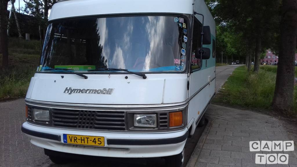 Hymer camper from 1986: photo 1/25