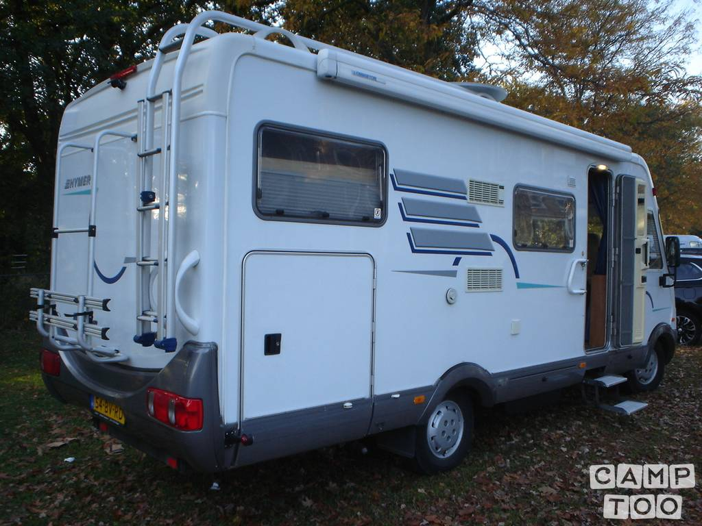 Hymer camper from 2000: photo 1/5