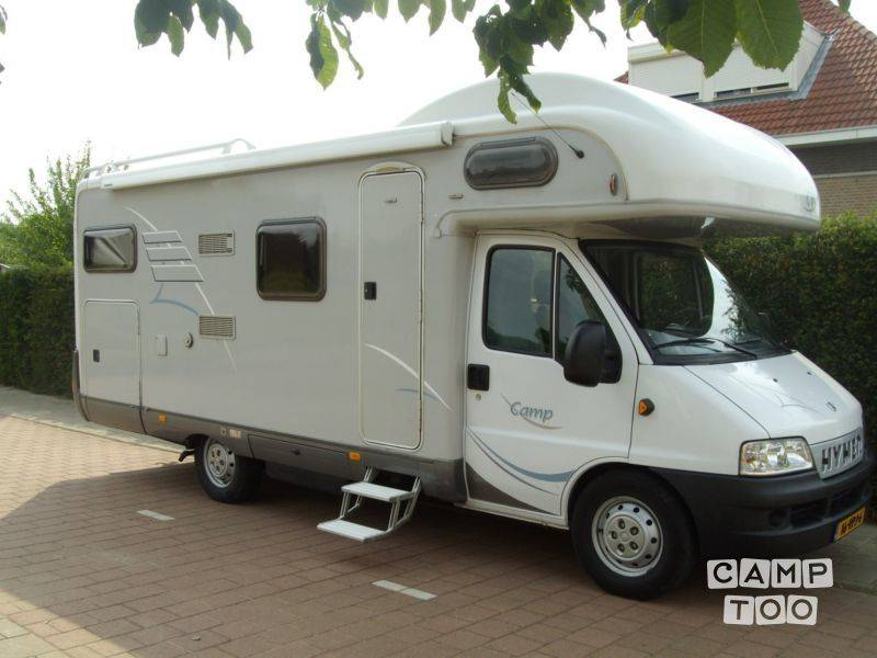 Hymer camper from 2003: photo 1/10