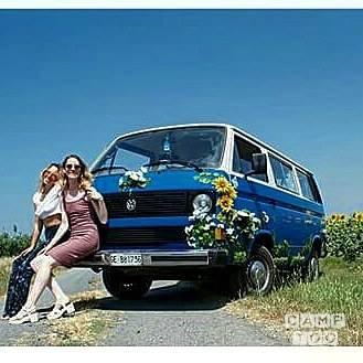 Volkswagen camper from 1983: photo 1/4