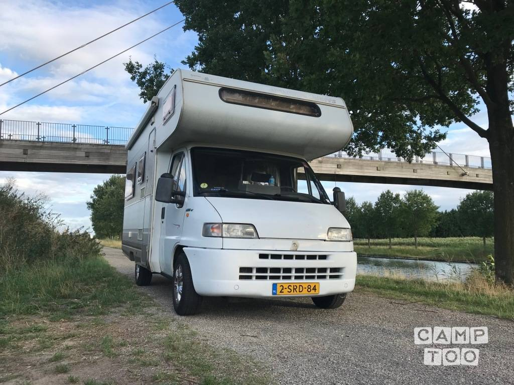 Fiat camper from 1995: photo 1/23