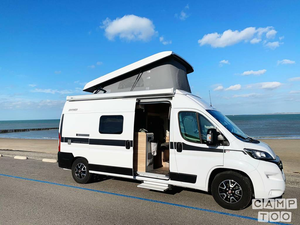 Hymer camper from 2020: photo 1/16