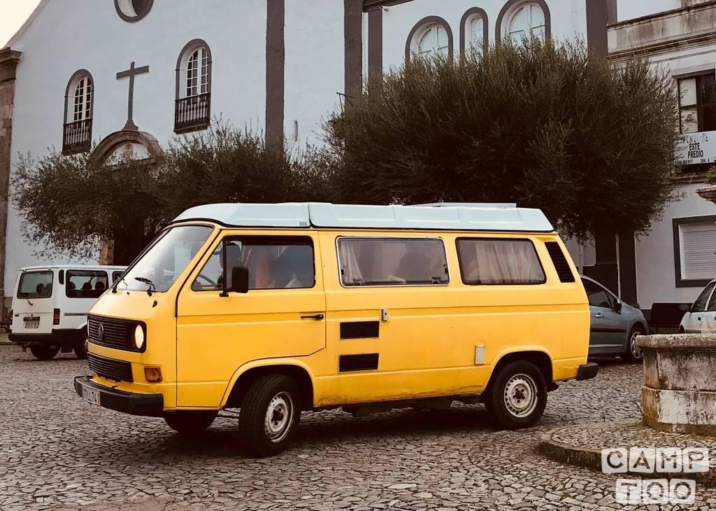Volkswagen camper uit 1987: foto 1/12