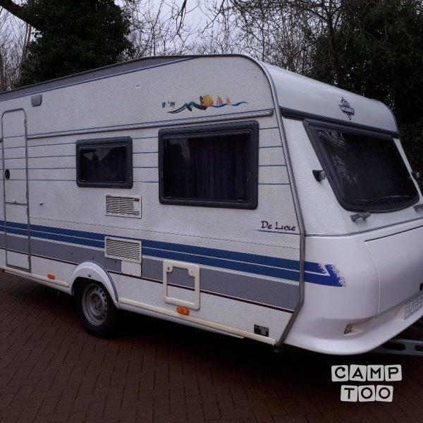 Hobby caravan from 1998: photo 1/16