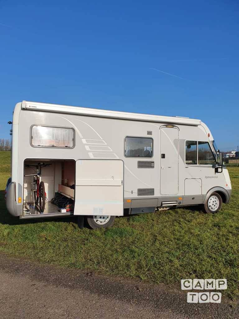 Hymer camper from 2006: photo 1/13