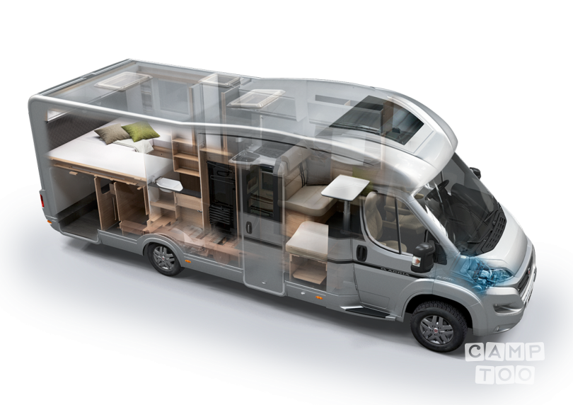 Sun Living camper from 2021: photo 1/9