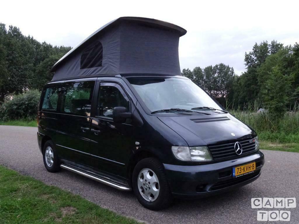 Mercedes-Benz camper uit 2003: foto 1/12