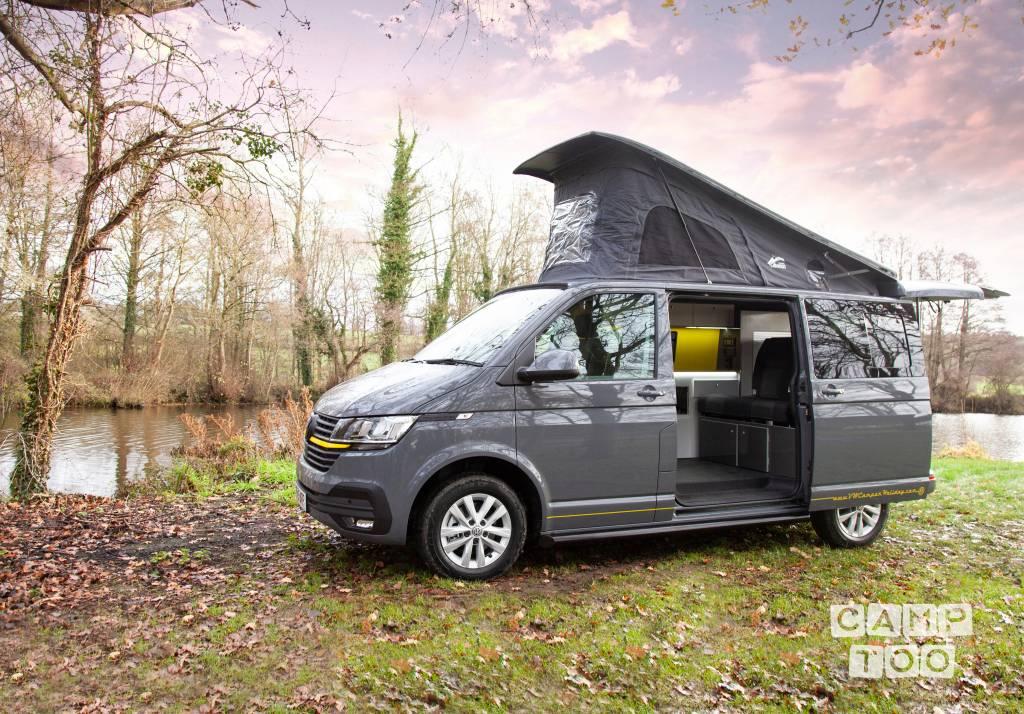 Volkswagen camper from 2020: photo 1/15