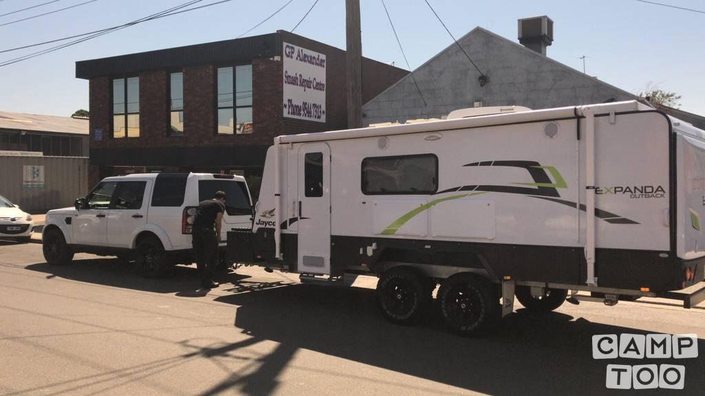 Jayco caravan uit 2015: foto 1/9