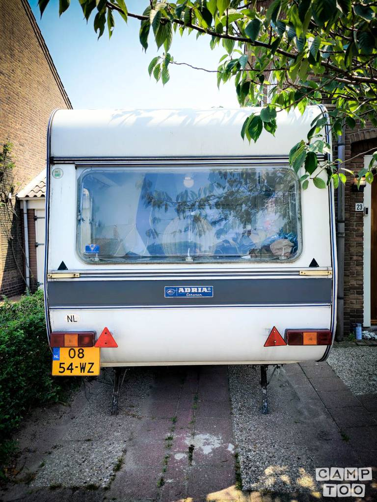Adria caravan from 1983: photo 1/10