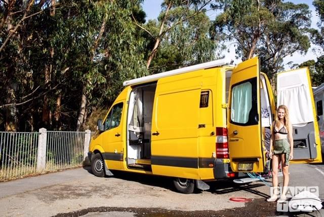 Mercedes-Benz camper uit 2013: foto 1/14