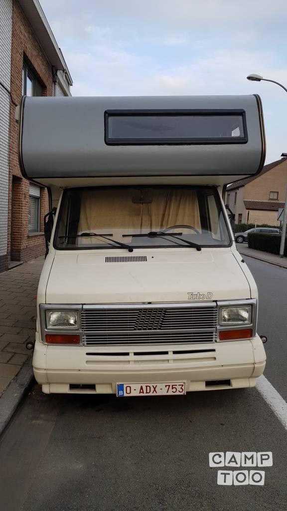 Bürstner camper uit 1990: foto 1/10