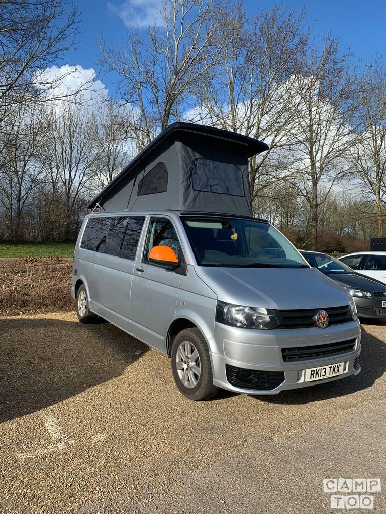 Volkswagen camper uit 2013: foto 1/11
