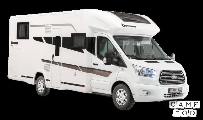 Benimar camper from 2021: kuva 1/7