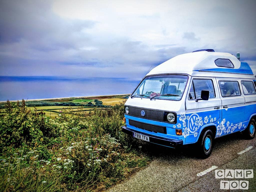 Volkswagen camper from 1989: photo 1/8