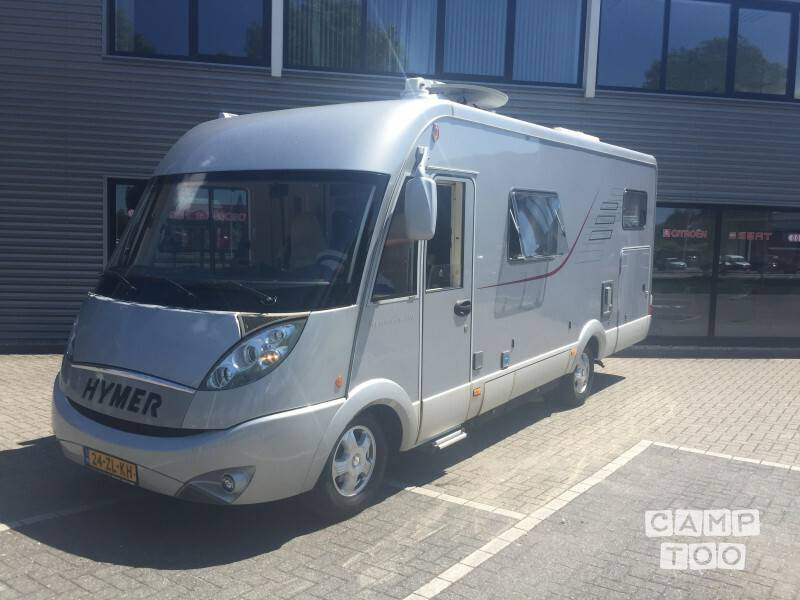 Hymer camper from 2008: photo 1/30