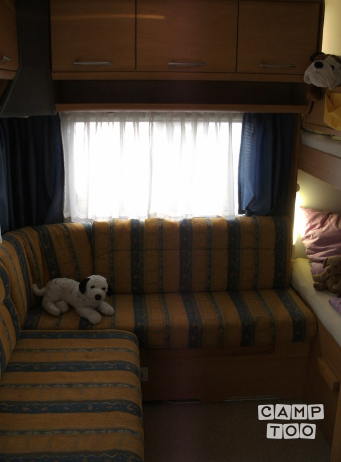 Knaus caravan from 2001: photo 1/14