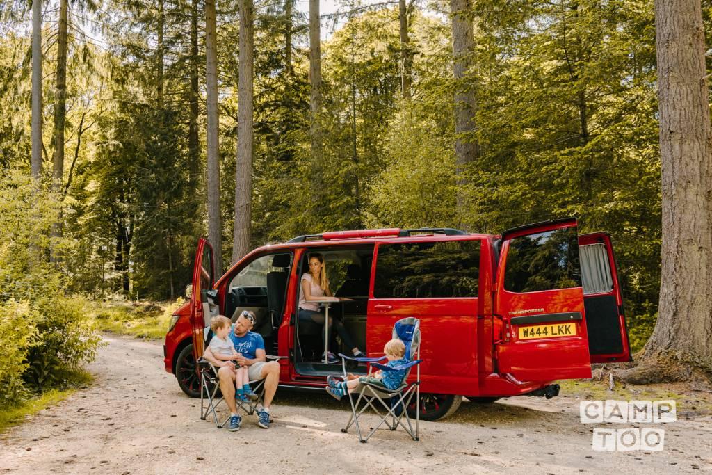 Volkswagen camper uit 2016: foto 1/21