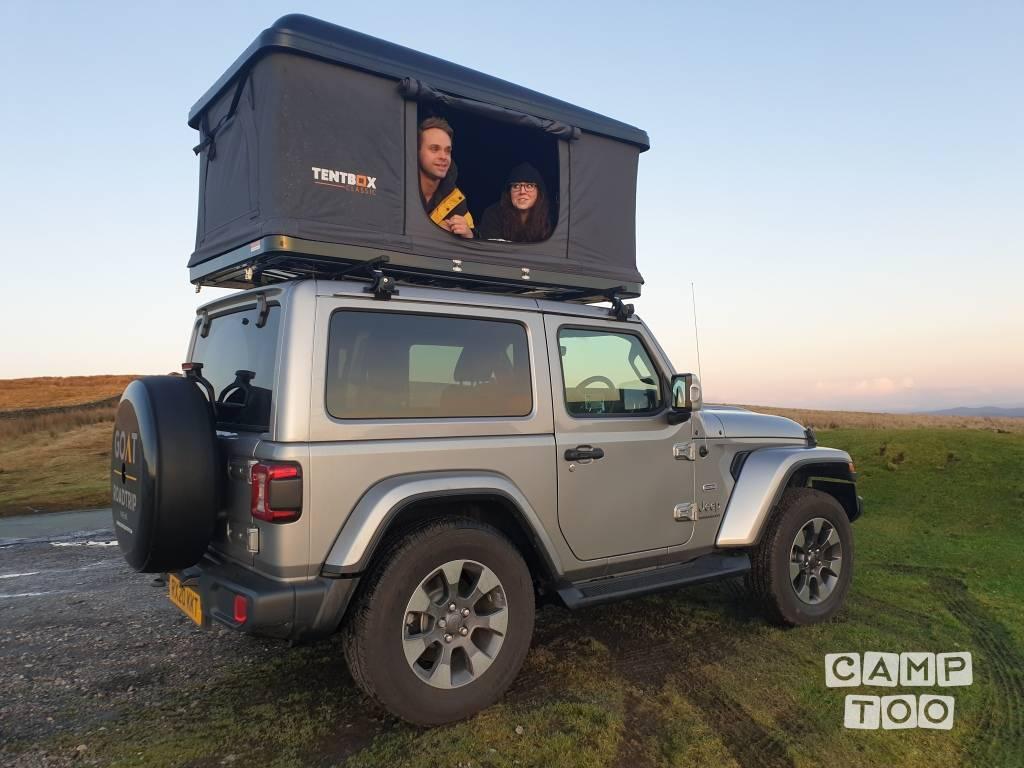 Jeep Wrangler Multijet Ii Overland Convertible Camper From 2020 For Hire In Leeds Camptoo