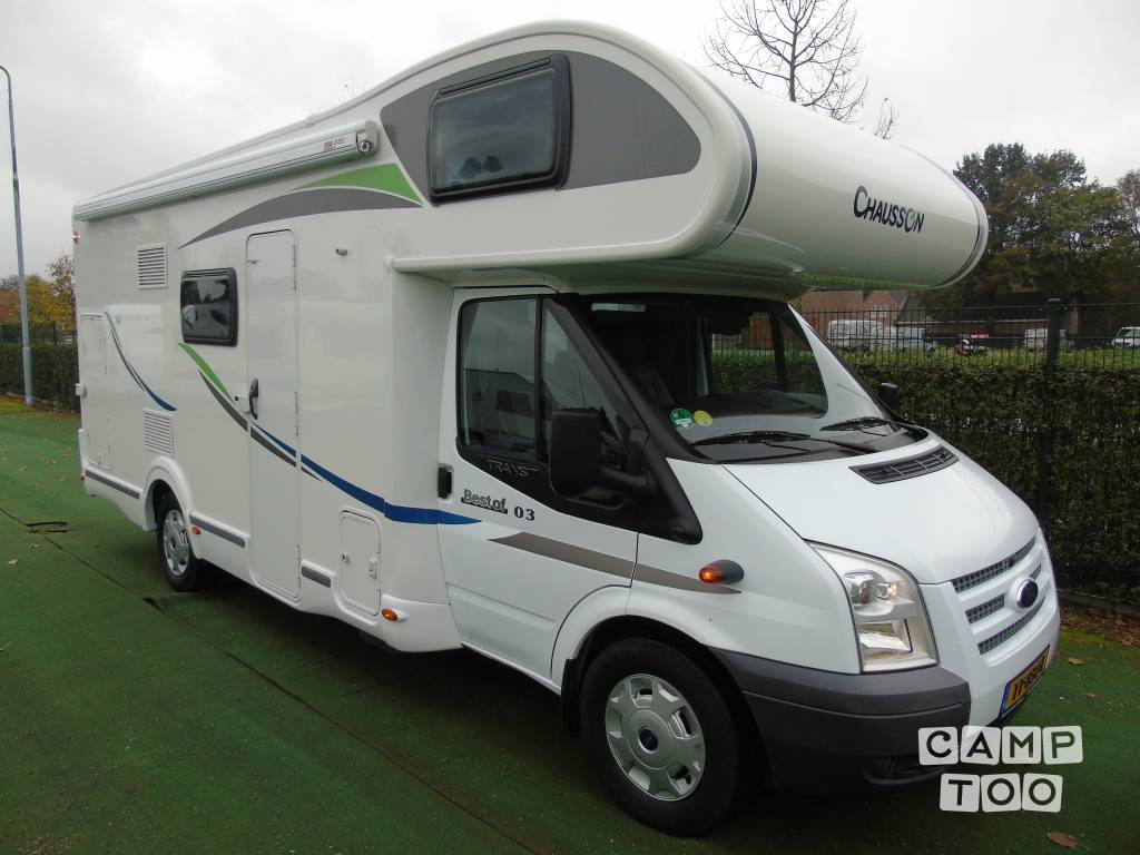 Chausson camper from 2014: photo 1/14