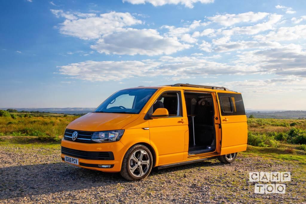 Volkswagen camper uit 2016: foto 1/11