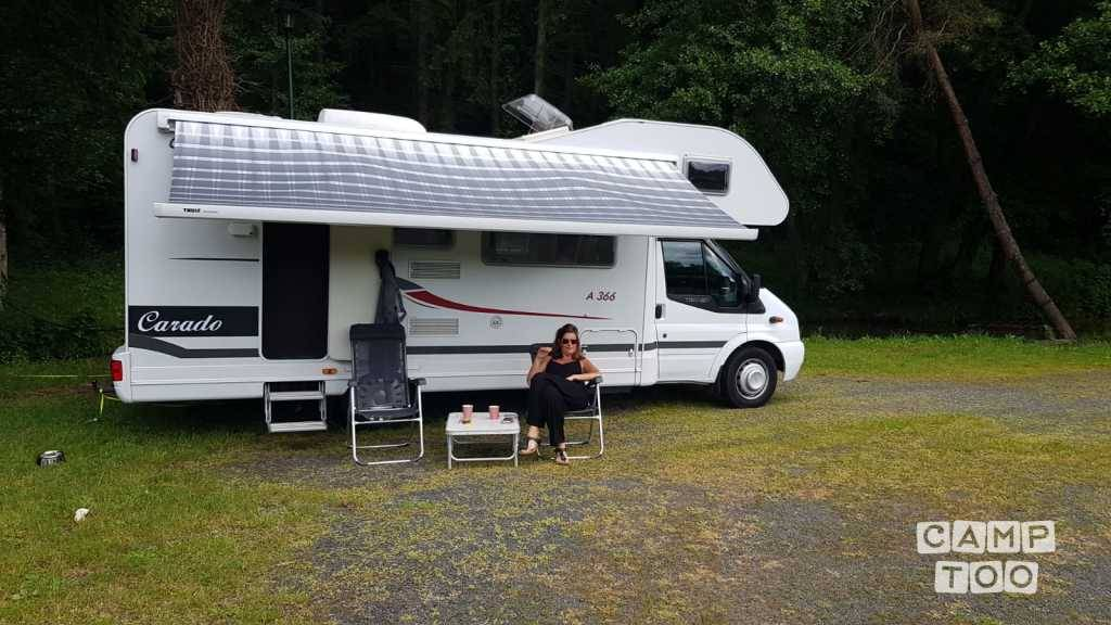 Hymer camper from 2008: photo 1/29