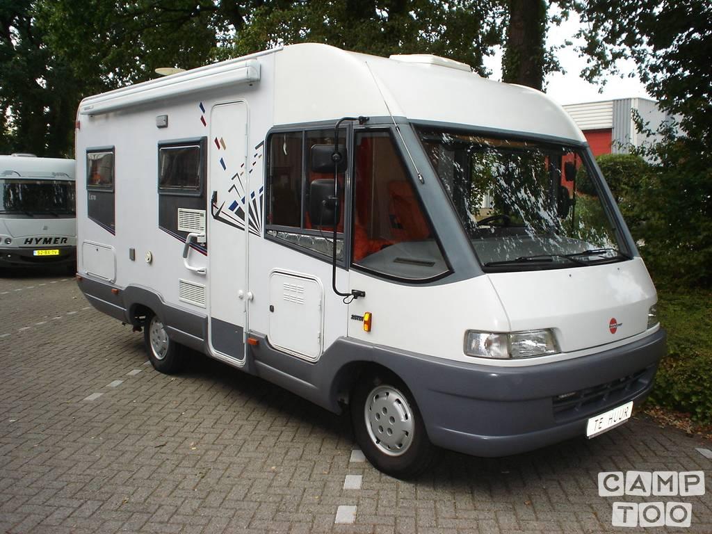 Bürstner camper from 1997: photo 1/15