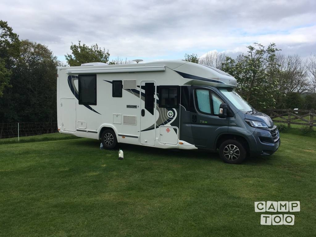 Chausson camper from 2016: photo 1/19