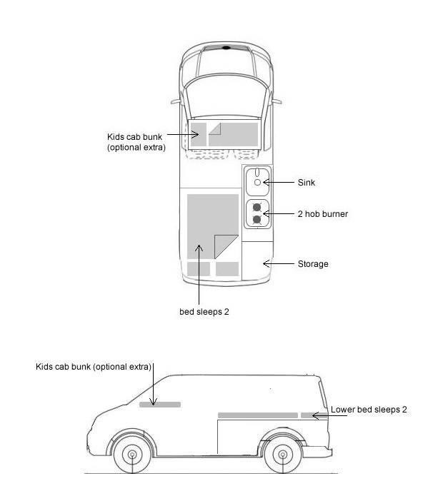 Volkswagen camper from 2008: photo 1/1