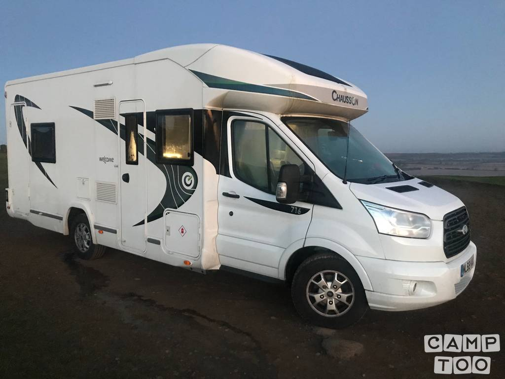 Chausson camper from 2019: photo 1/13