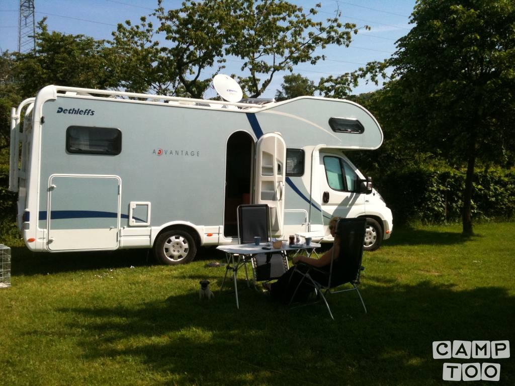 Dethleffs camper from 2010: photo 1/8
