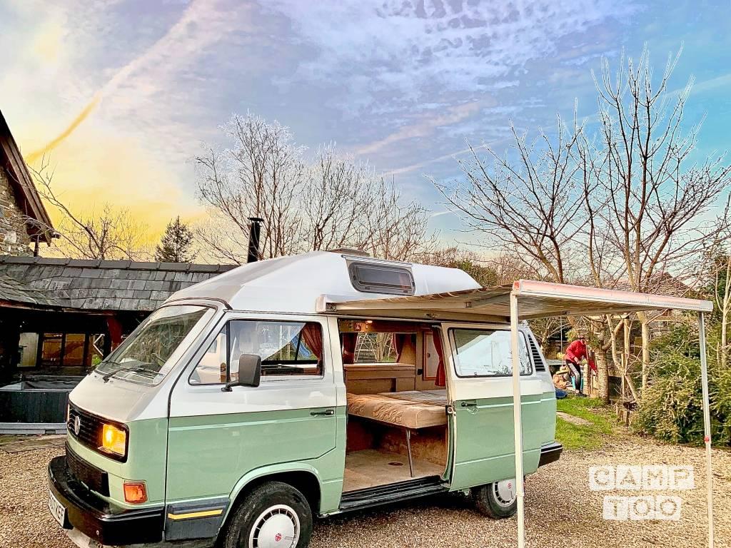 Volkswagen camper uit 1990: foto 1/10