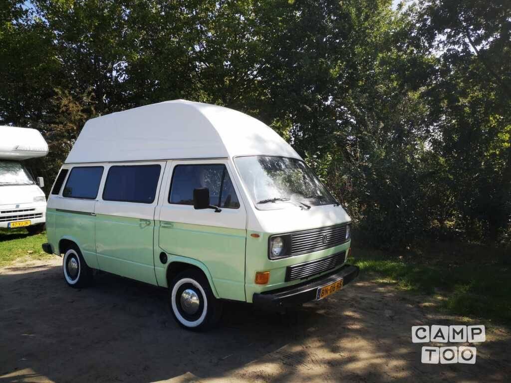 Volkswagen camper from 1985: photo 1/9