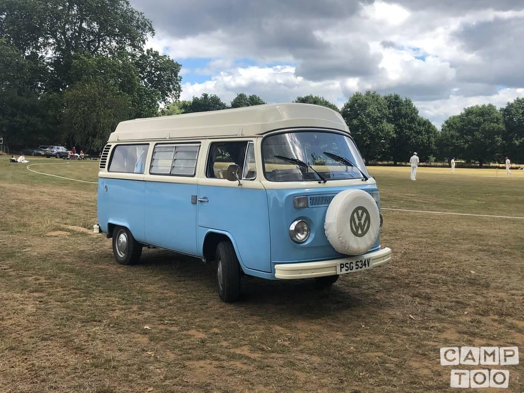 Volkswagen camper uit 1979: foto 1/22