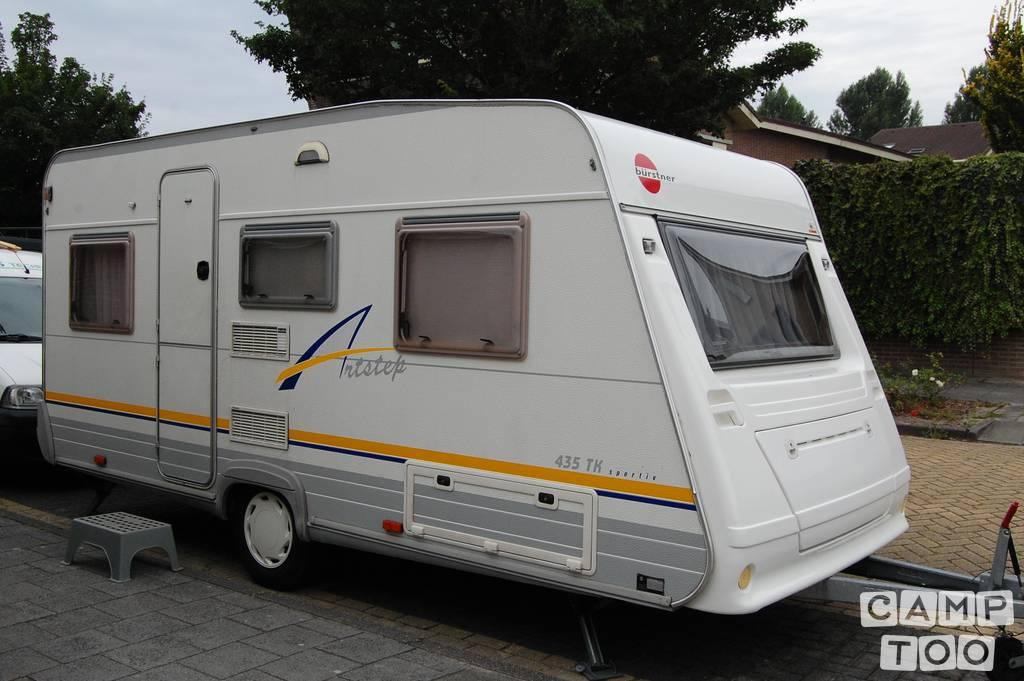 Bürstner caravan uit 2002