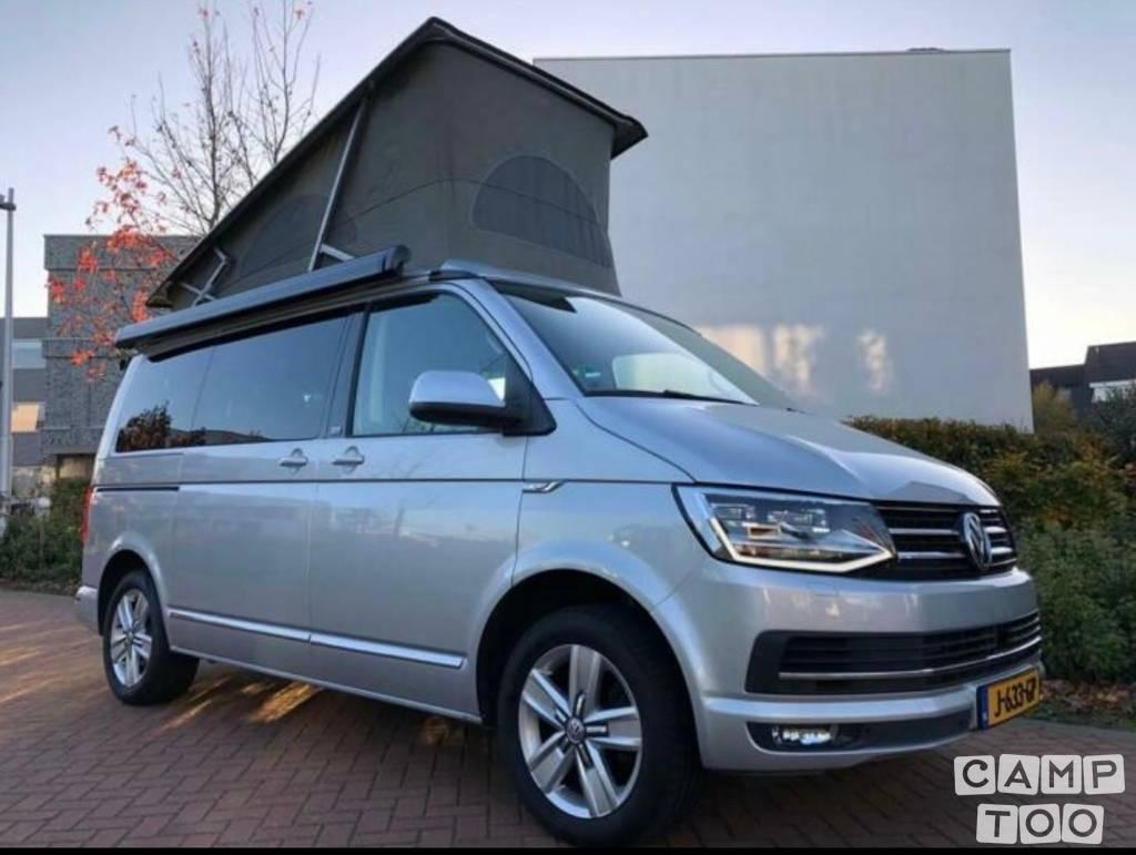 Volkswagen camper uit 2016