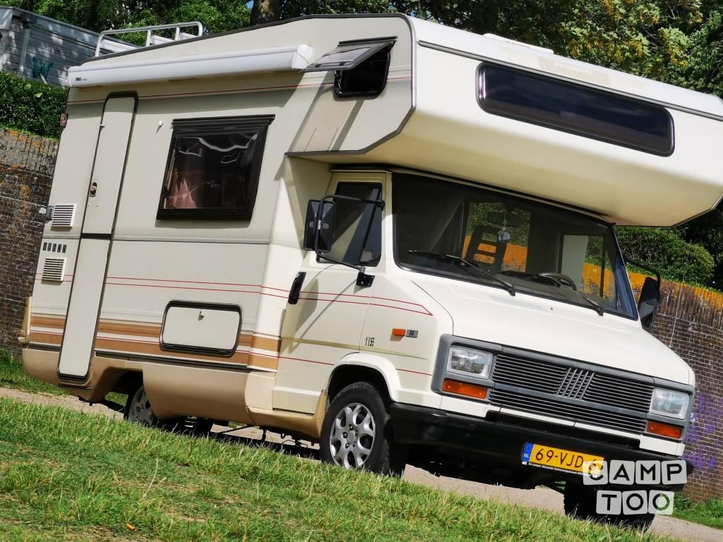 Fiat camper uit 1989: foto 1/13