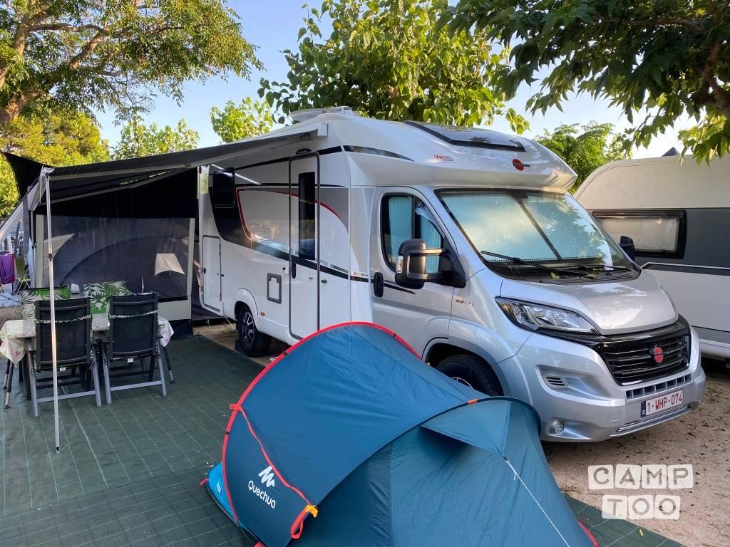 Bürstner camper uit 2019: foto 1/13