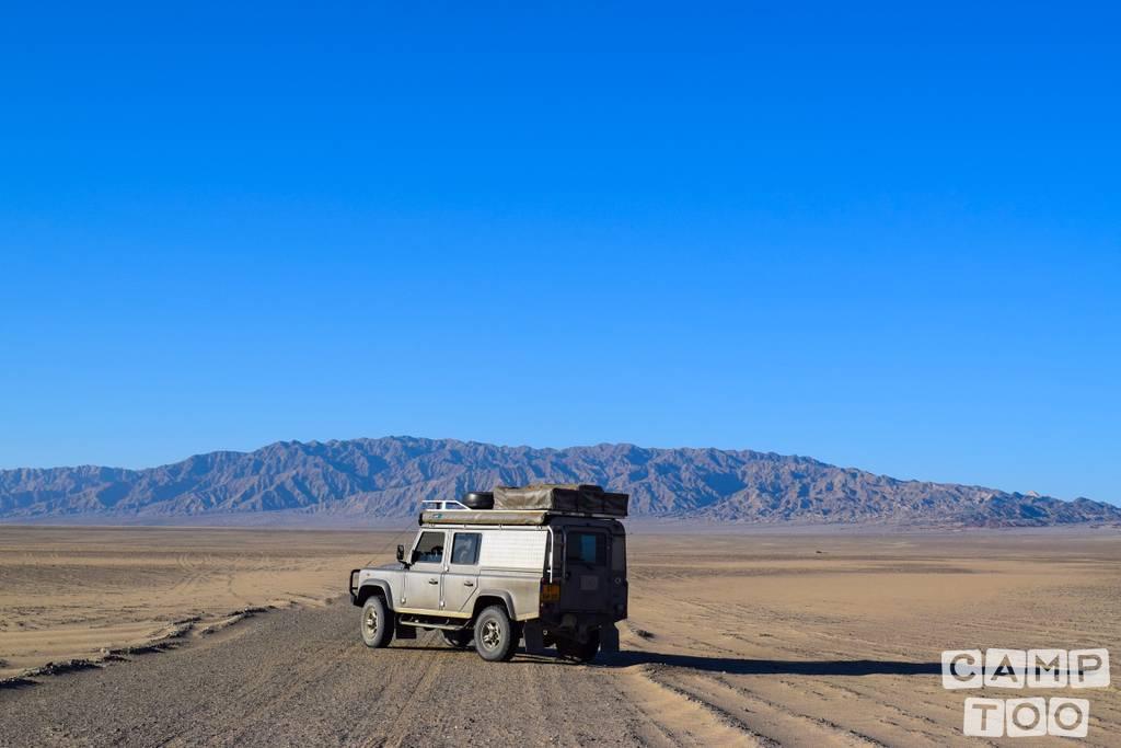 Land Rover camper uit 1998: foto 1/12