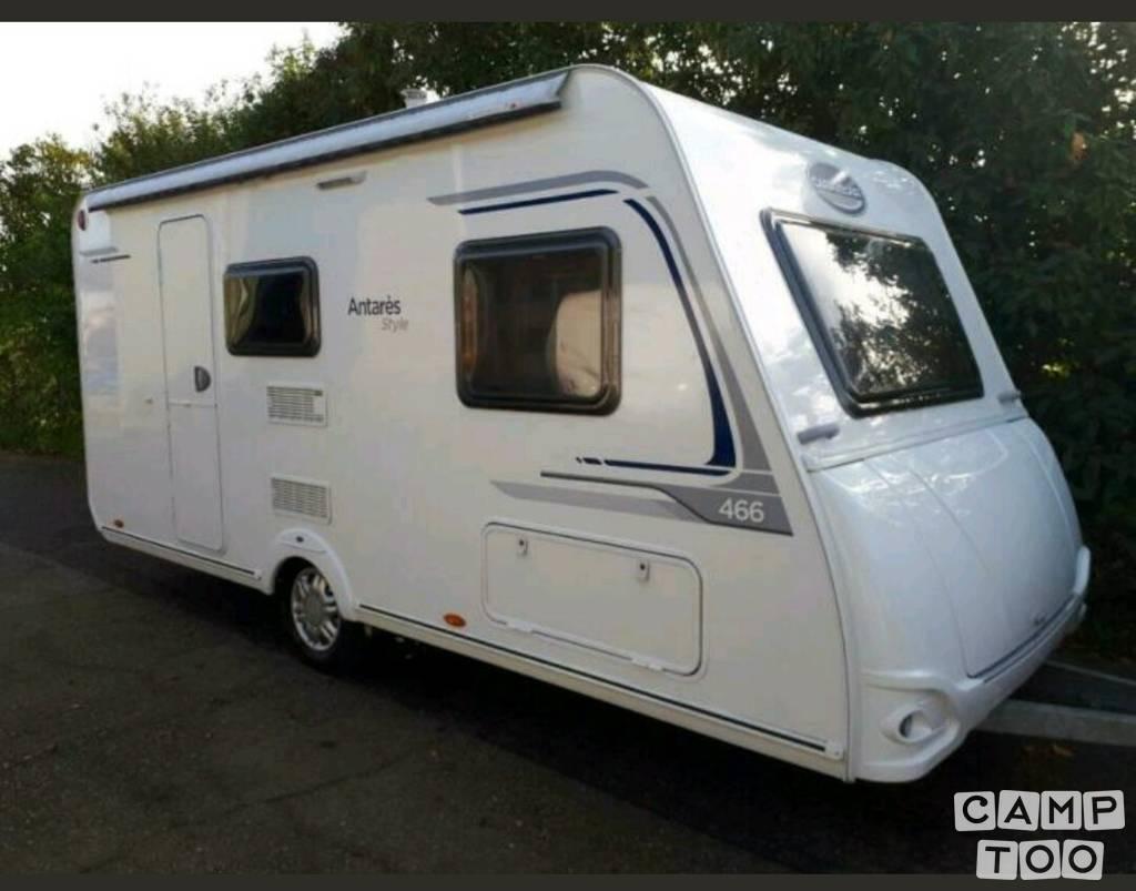 Caravelair caravan uit 2016