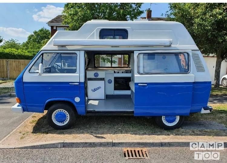 Volkswagen camper from 1990: photo 1/20