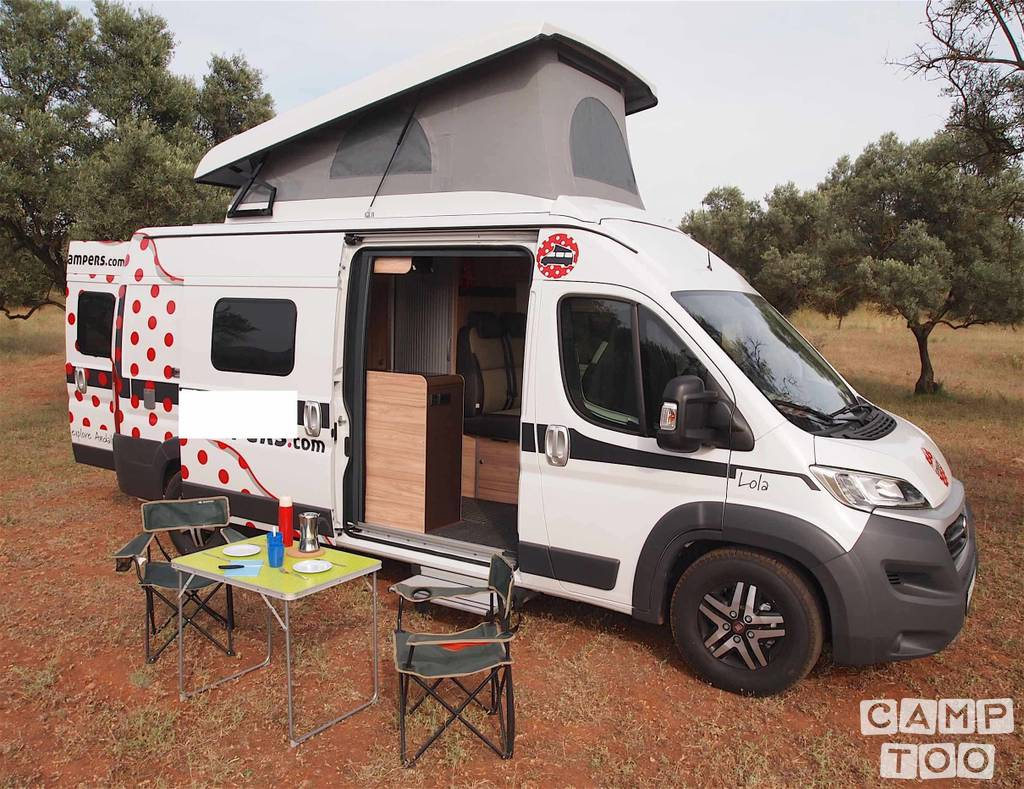 Hymer camper from 2017: photo 1/10