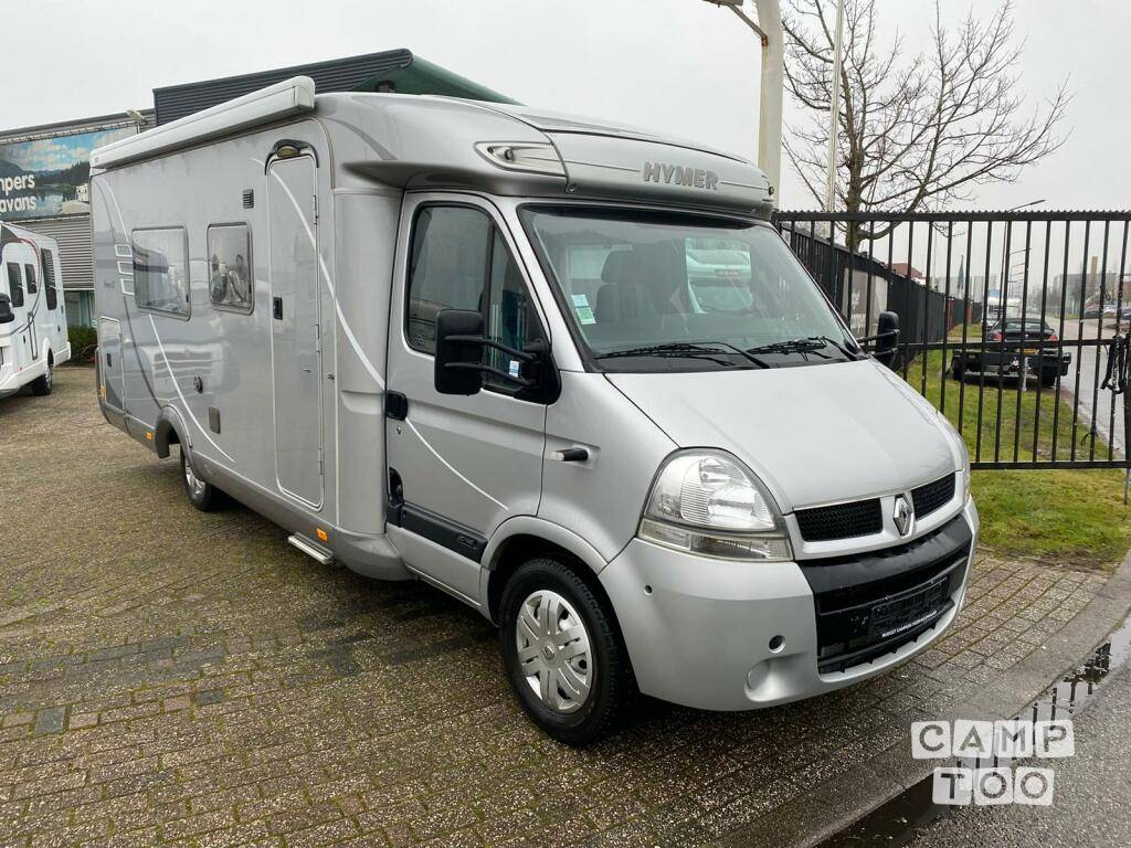 Hymer camper from 2006: photo 1/17