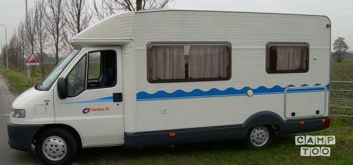 Caravans internationaal  carioca camper uit 2001