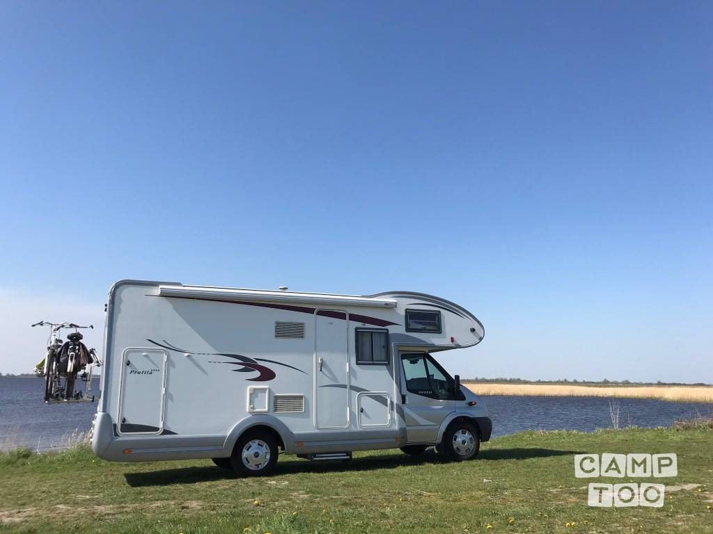Eura Mobil camper from 2012: photo 1/24