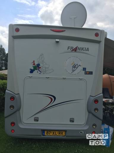 Frankia  Holiday Class camper uit 2007