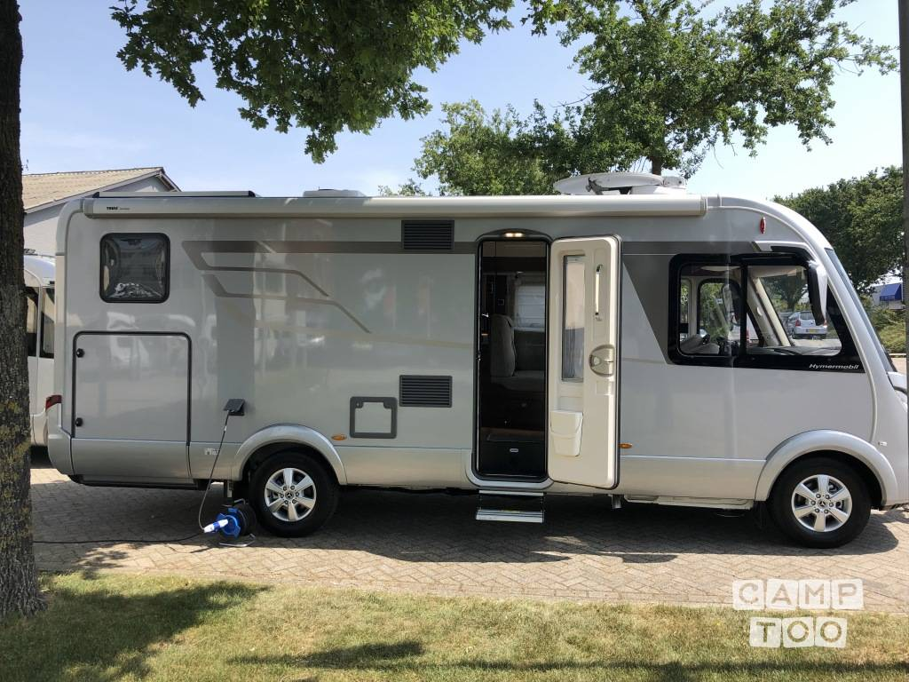 Hymer camper from 2019: photo 1/27