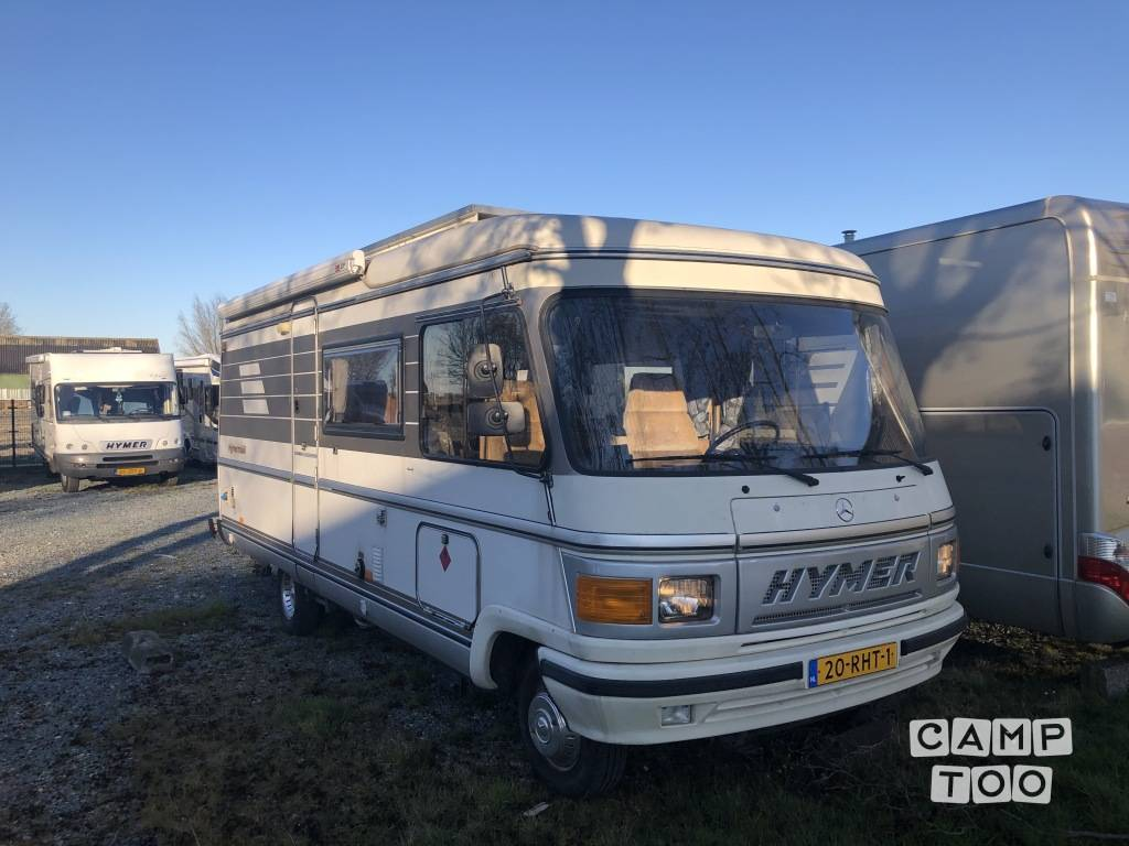 Hymer camper from 1989: photo 1/16