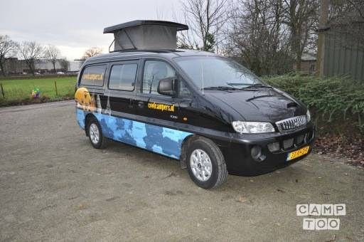 HYUNDAI H200 camper from 2005