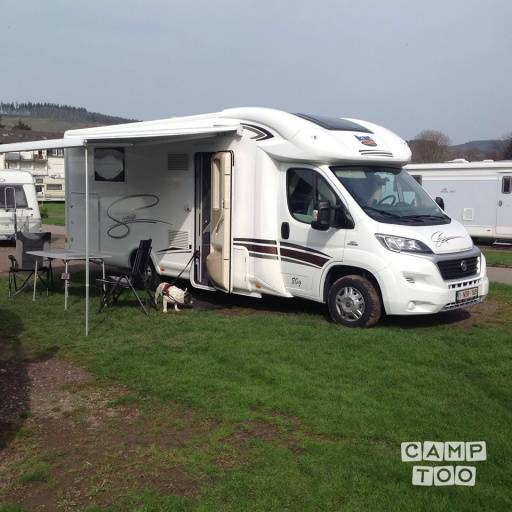 Fiat Sovereign 80 camper from 2016